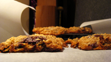 it takes two (batches of oatmeal chocolate chip coconut cookies).